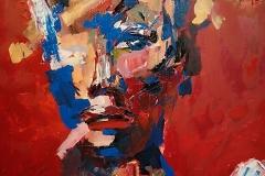 """R. Lauraitytės tapybos darbų paroda """"Antrojo laipsnio kalba"""""""